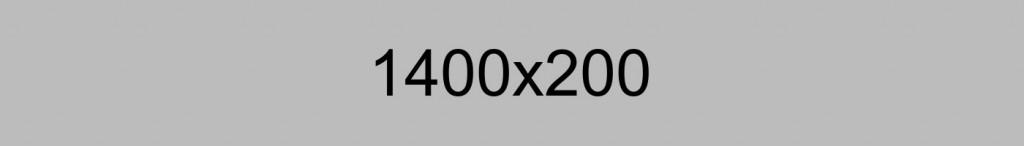 1400x200